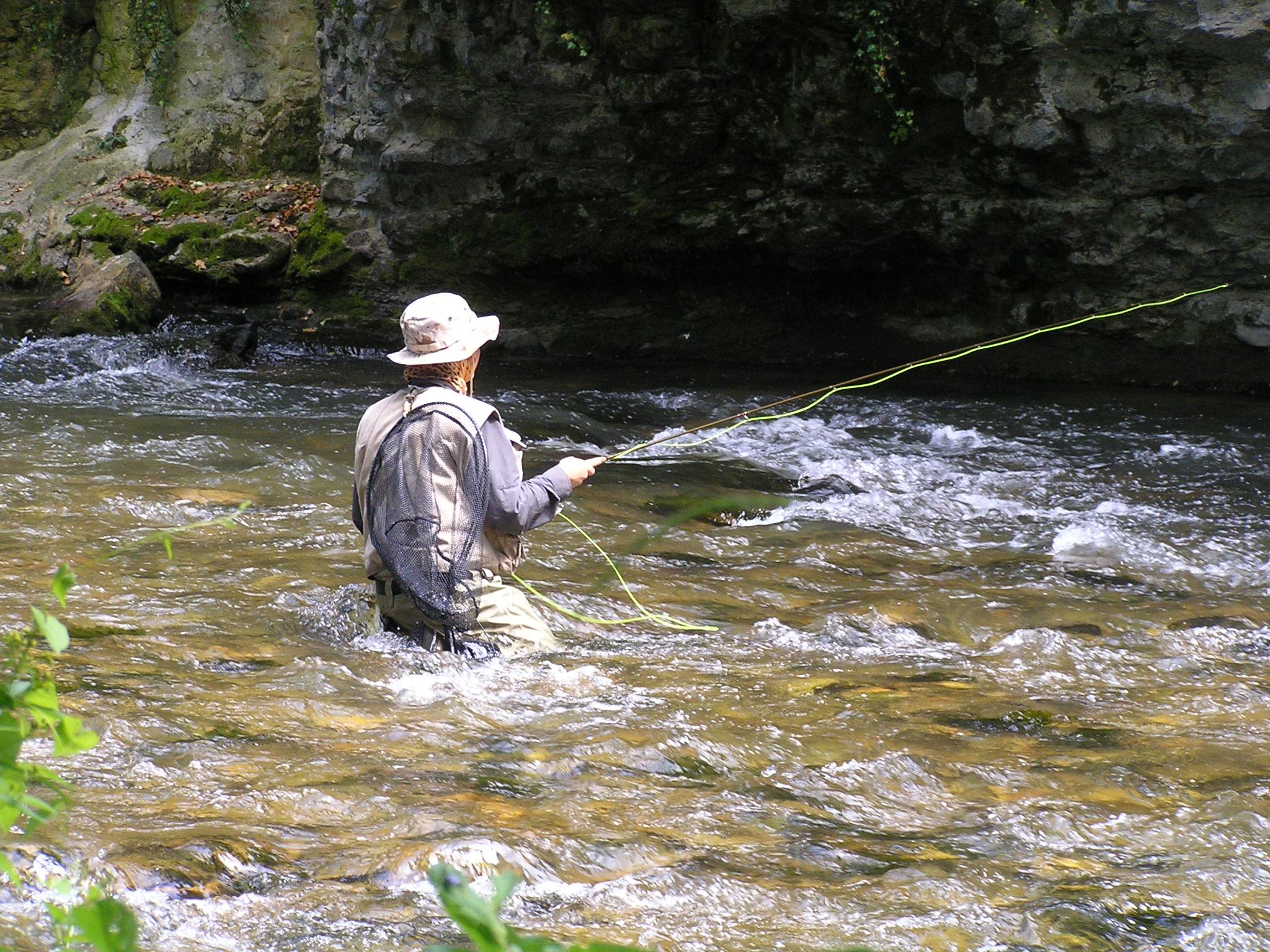 Les bains à podmoskove la pêche
