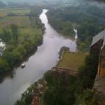 La Dordogne vue du chateau de Beynac